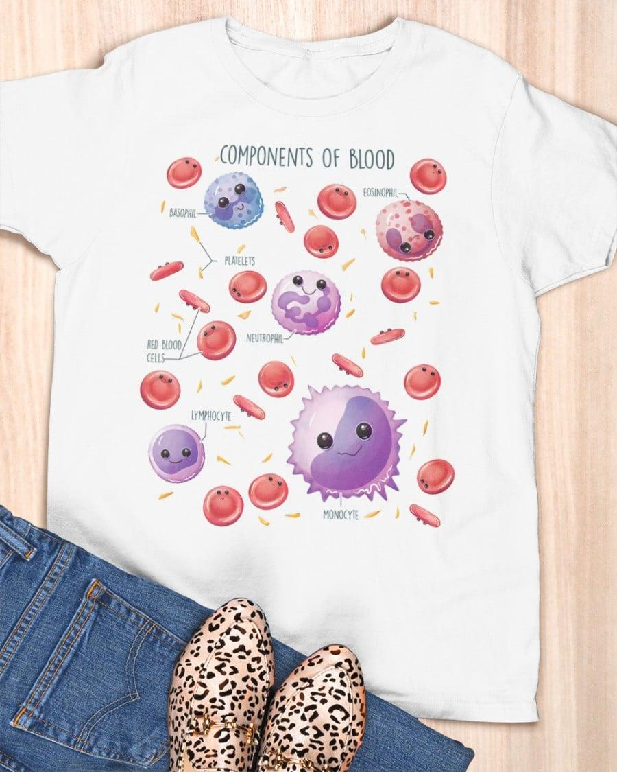 Components Of Blood Shirt