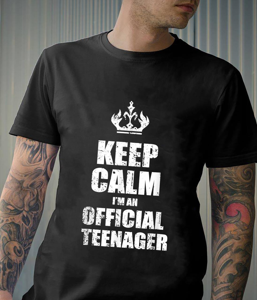 Funny 13th Birthday Officialnager 13 Year Old Shirt