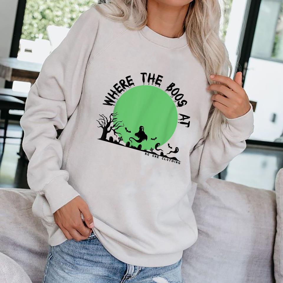 Where the boos at halloween edition Shirt sweater